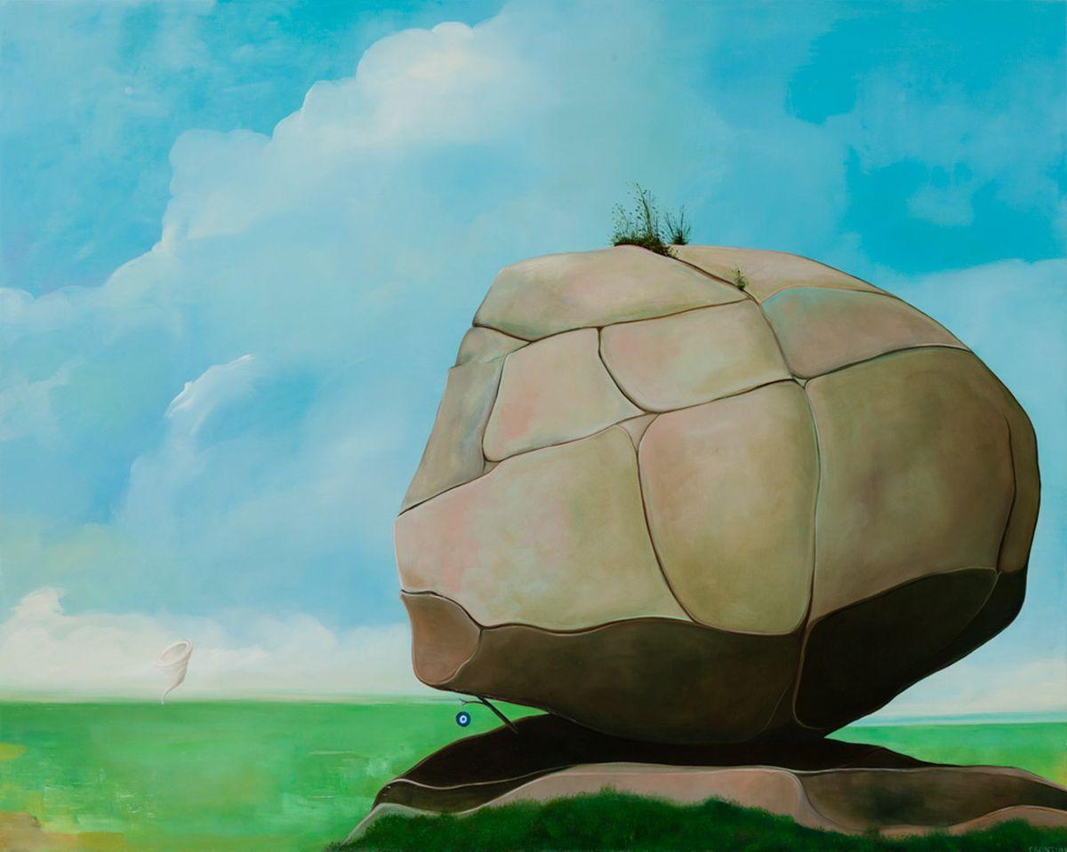 Lone Boulder #2