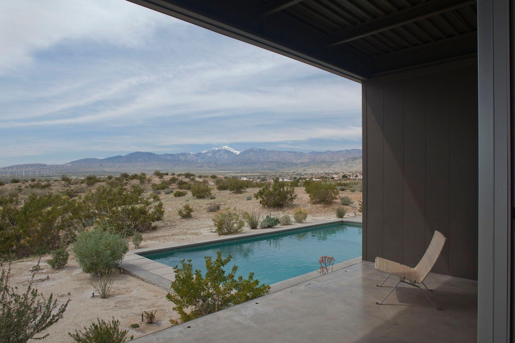 Marmol Radziner Desert House View