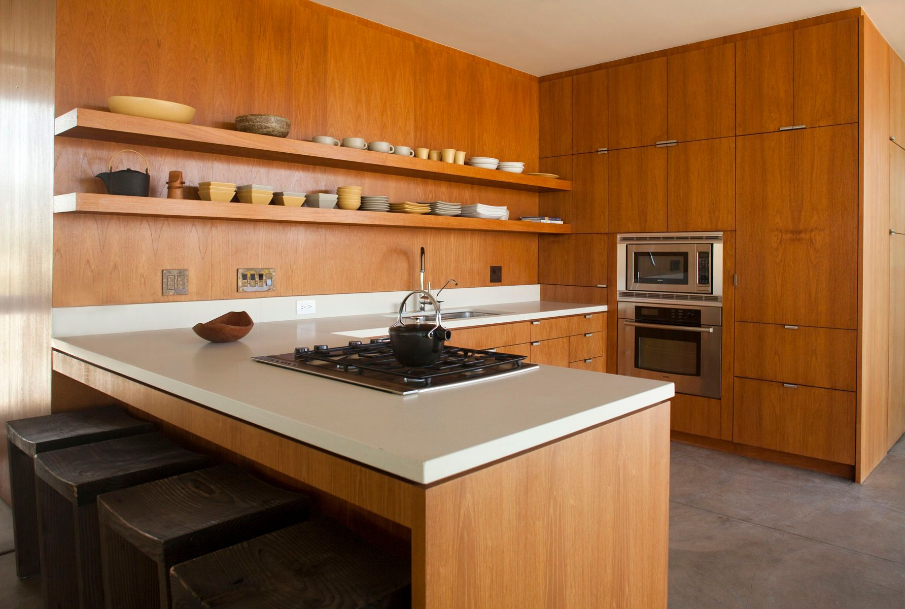 Marmol Radziner Desert House Kitchen