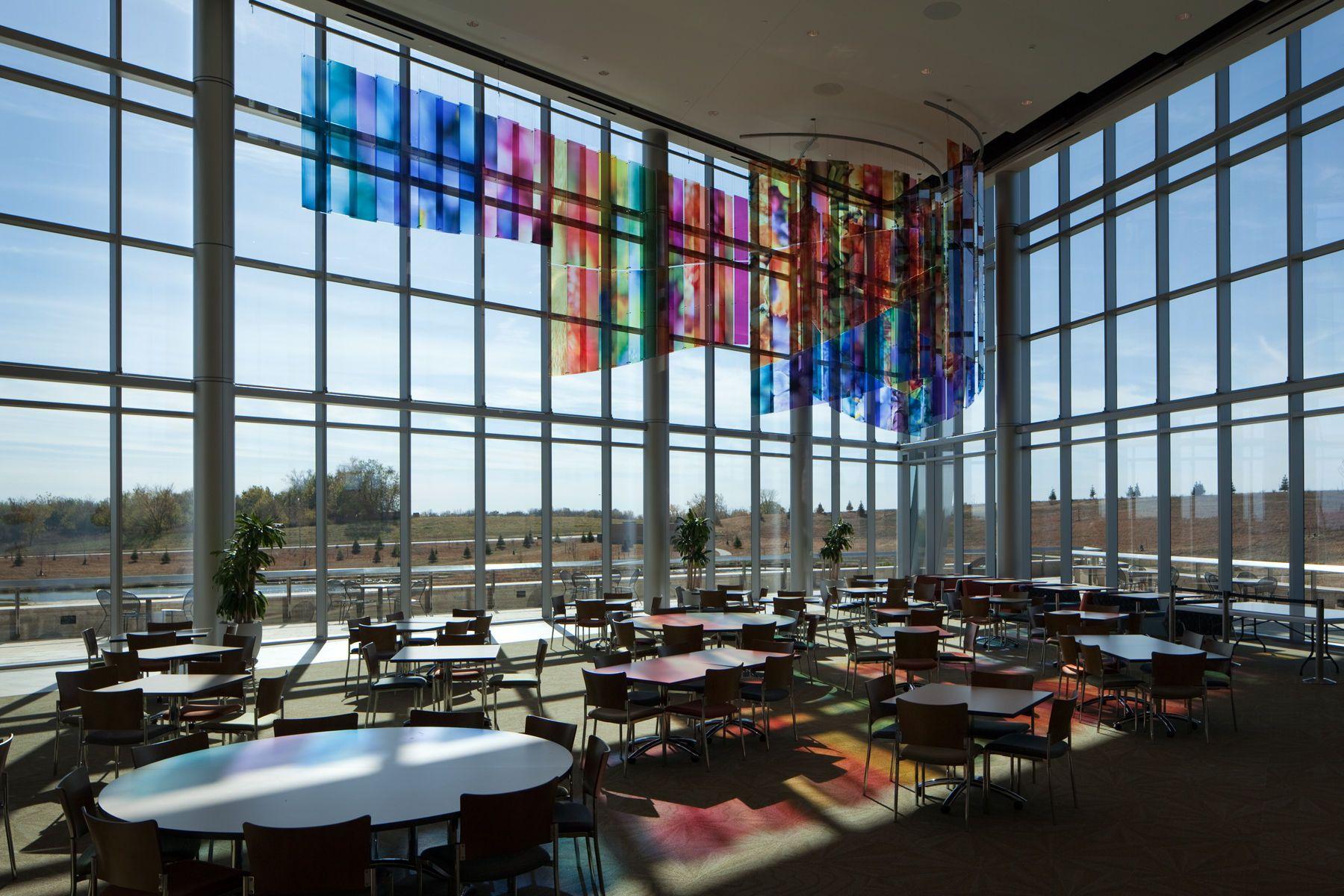 Glass Aerial Sculptures - Vertex