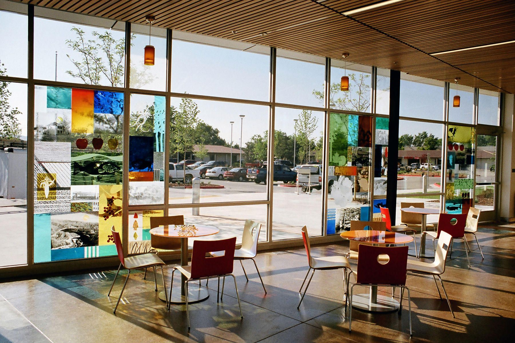 Library Glass Panels