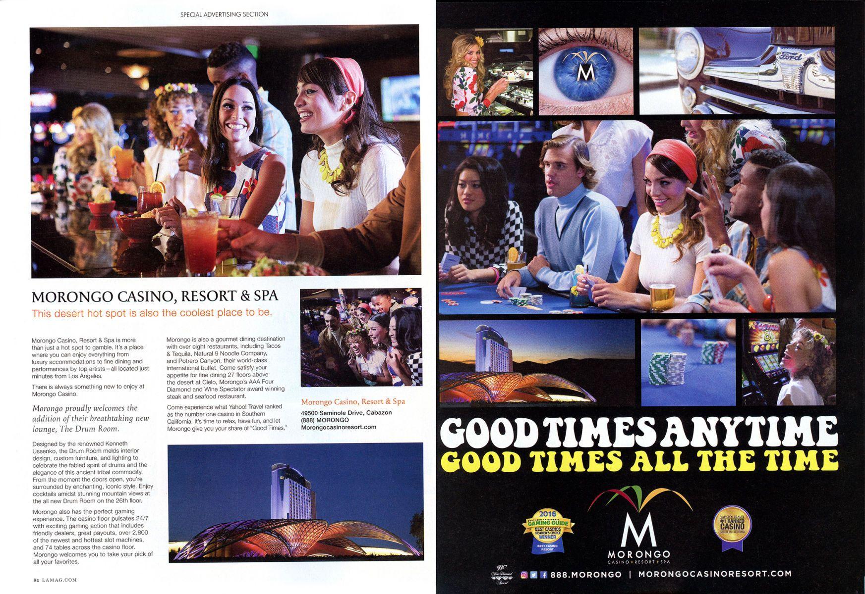 Morongo Casino Ad