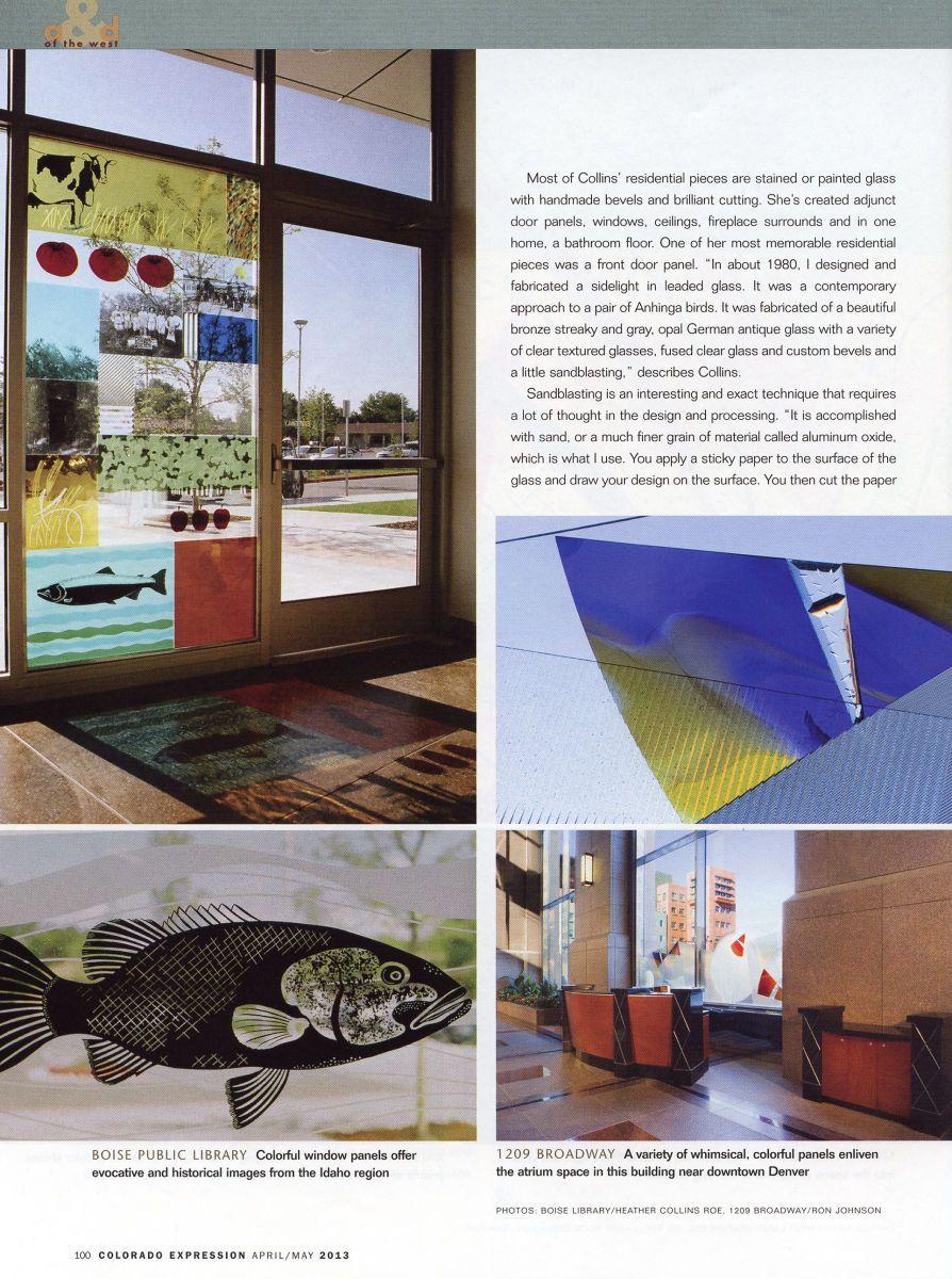 Colorado Expression Magazine, April/May 2013