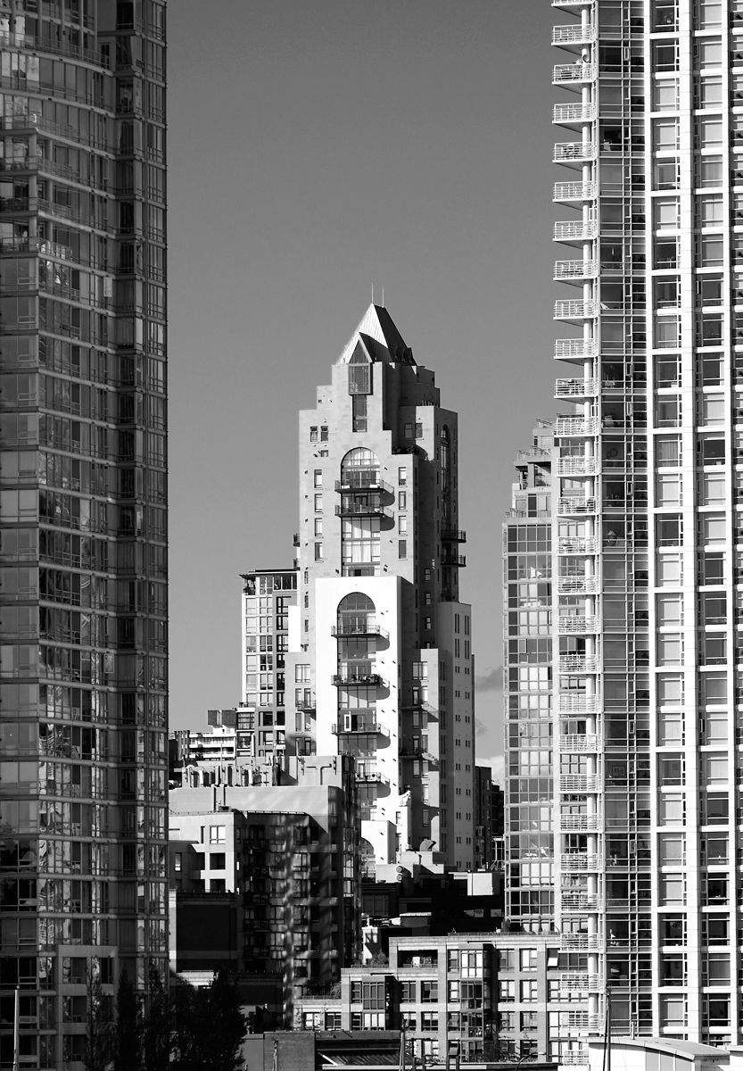 b+w architectural photography