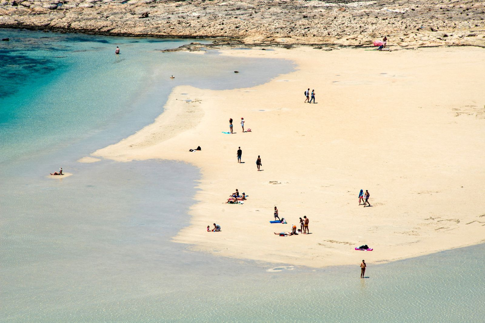 Balos breach, Crete, Greece