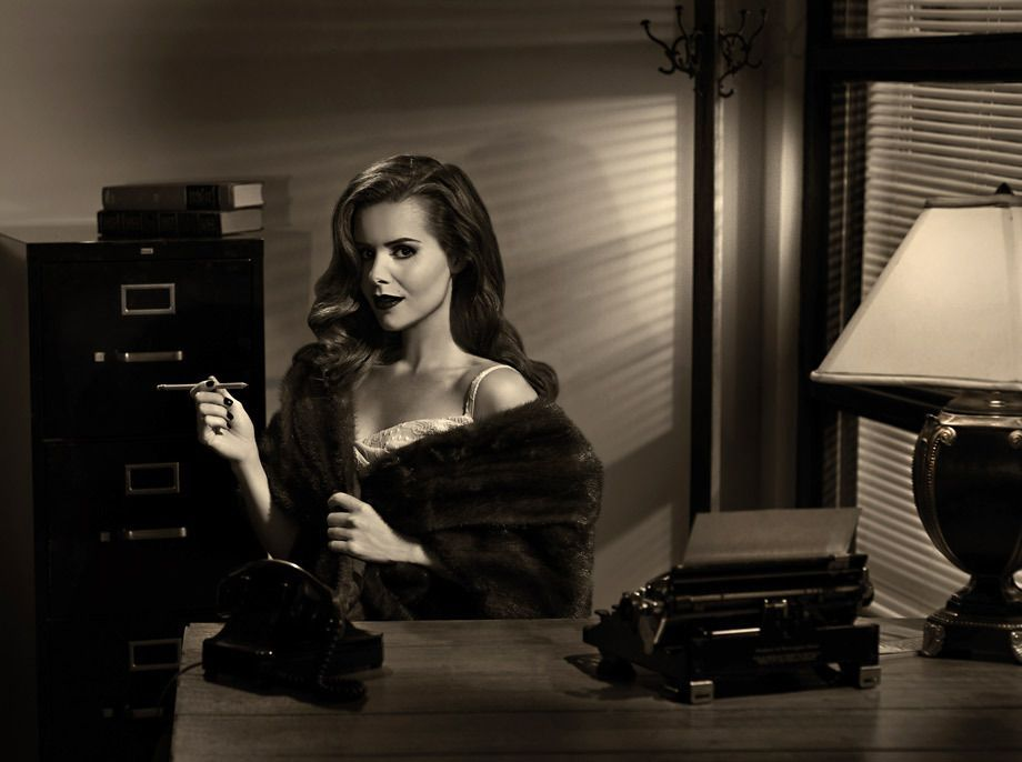 Film Noir Photography in Los Angeles