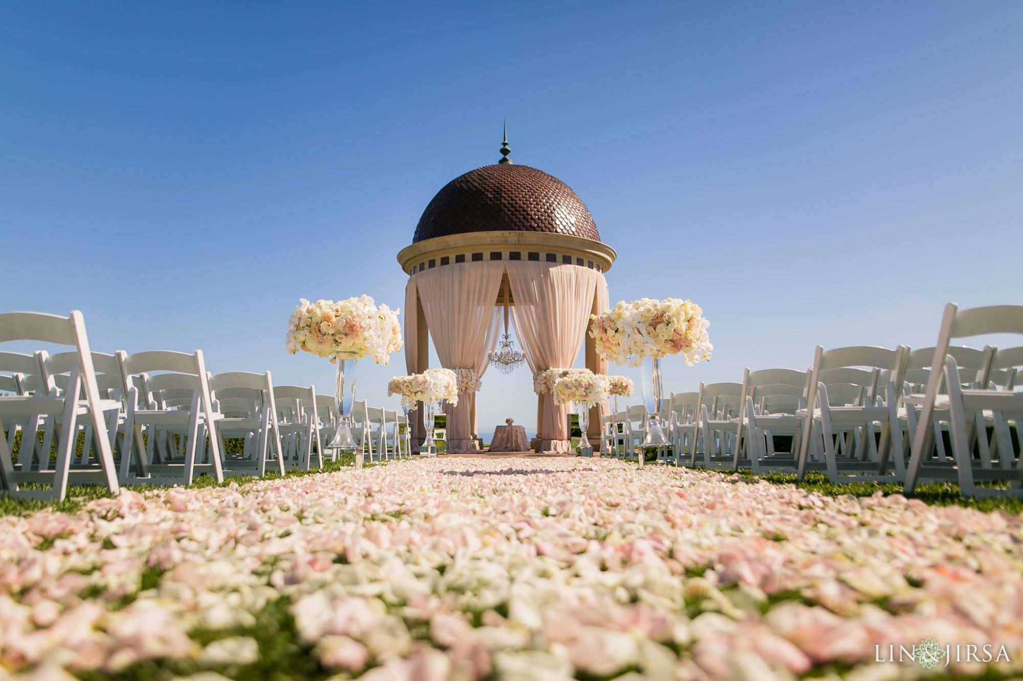 Pelican Hill Resort Wedding Ceremony Rotunda