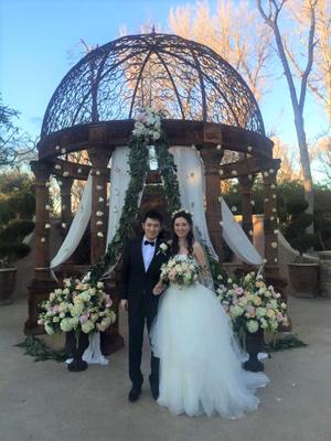 Romantic Garden Wedding at Westlake Village Inn