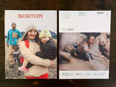Front/ Back Cover, Burton Womens Lookbook 2019