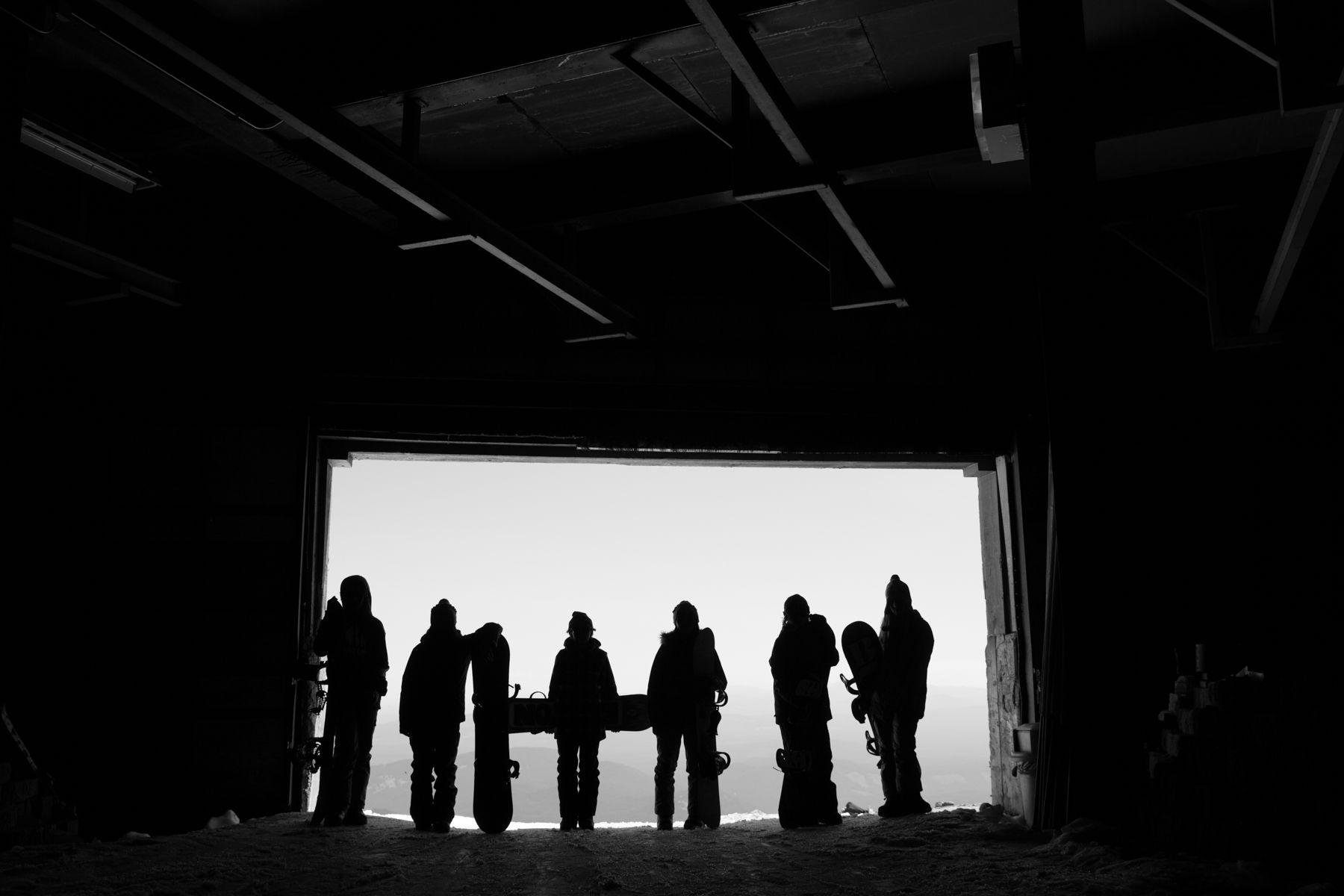 Silhouette of Crew
