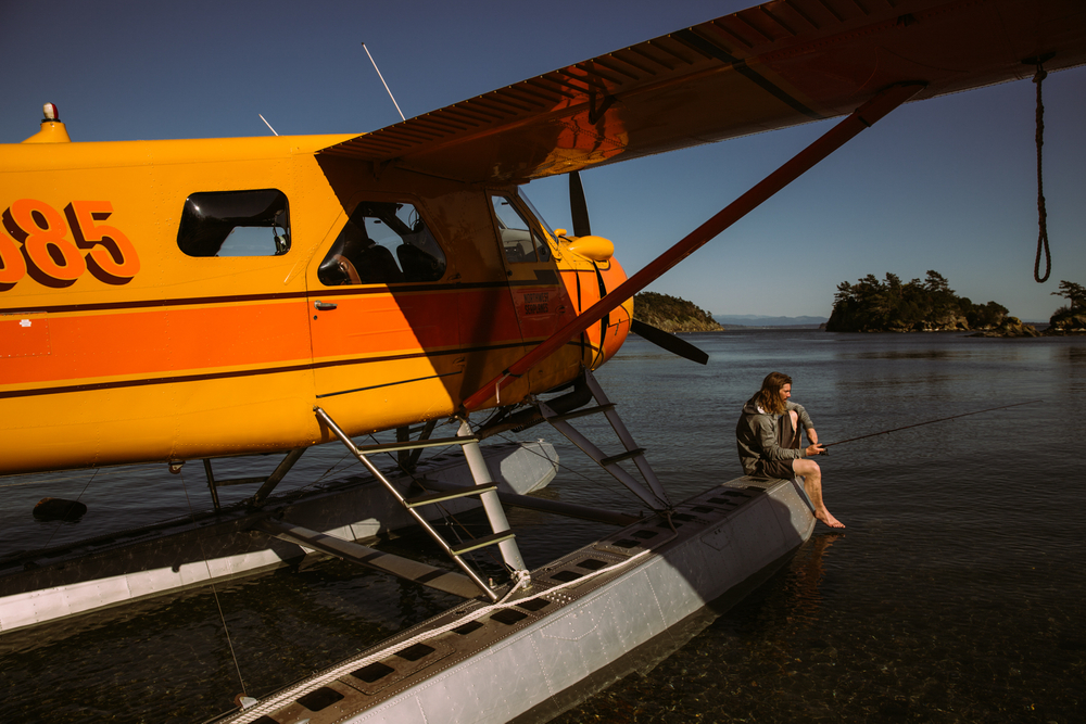 Mark Sollors, Fishing Off A Sea Plane