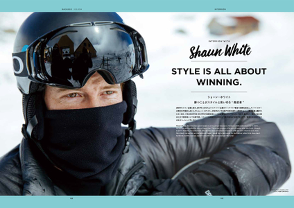 Shaun White Spread_ BacksideMag Japan