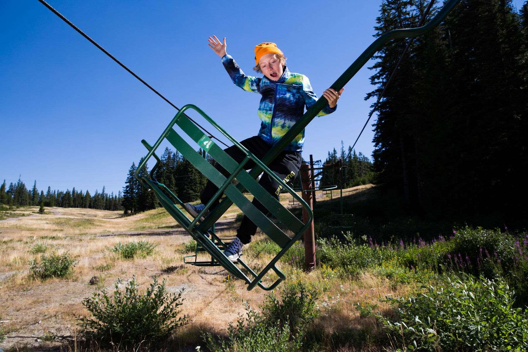 Ski Lift Rodeo
