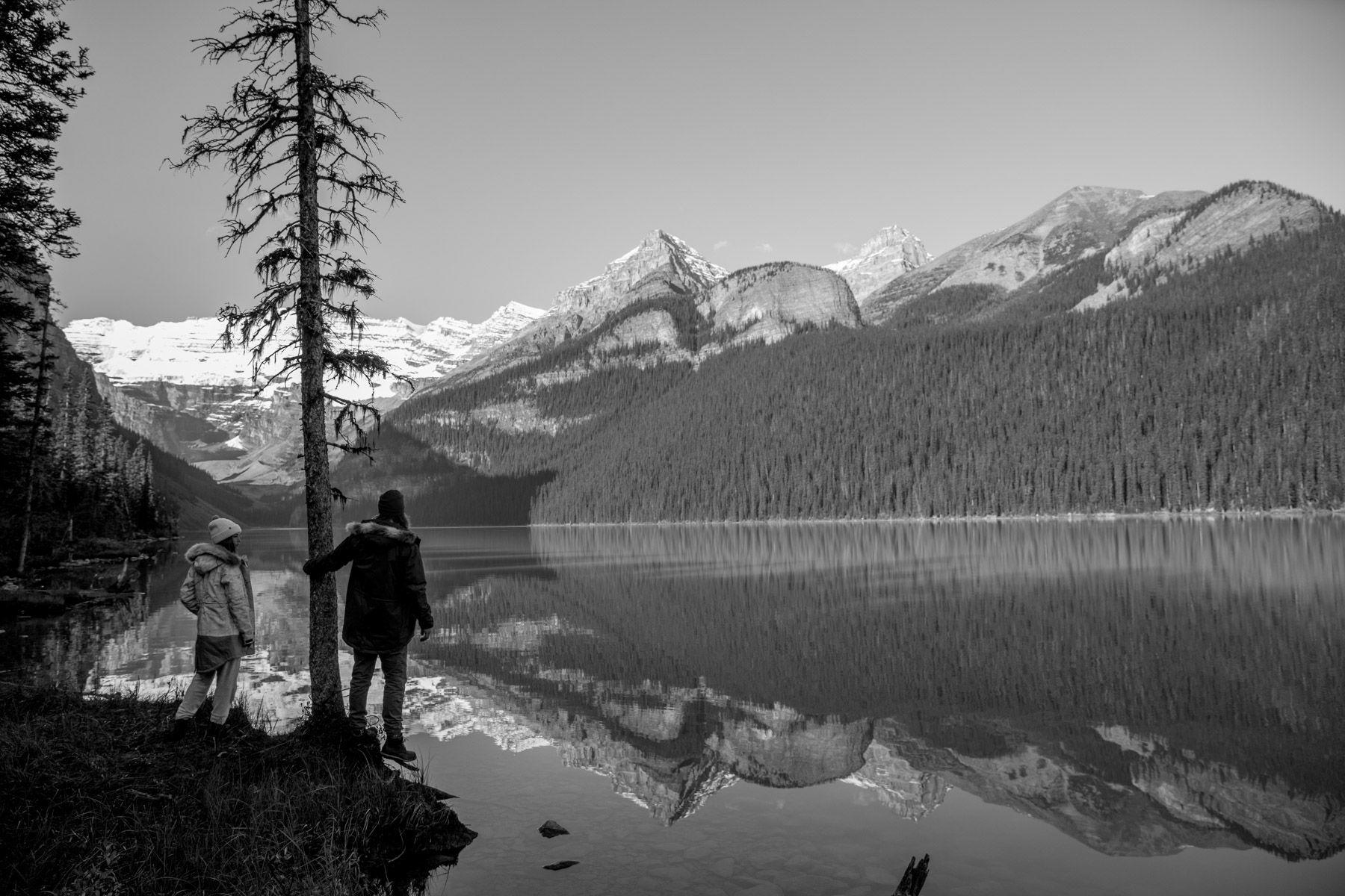 Melrose Boyer, Mark Sollors, Oil Glass Morning, Lake Louise