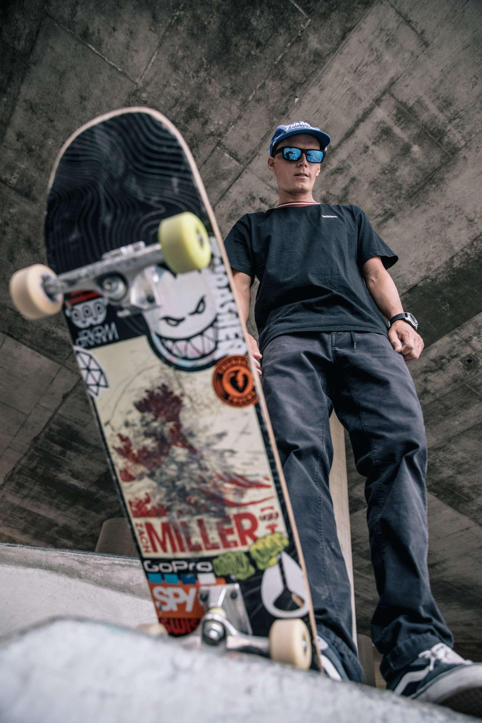 Zack Miller - Spy Optics