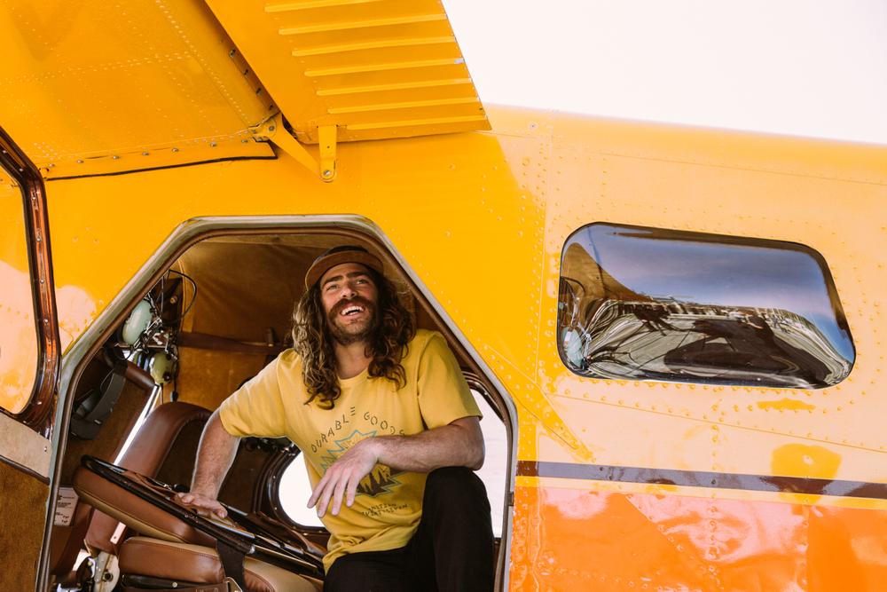 Danny Davis, Smiling in the plane