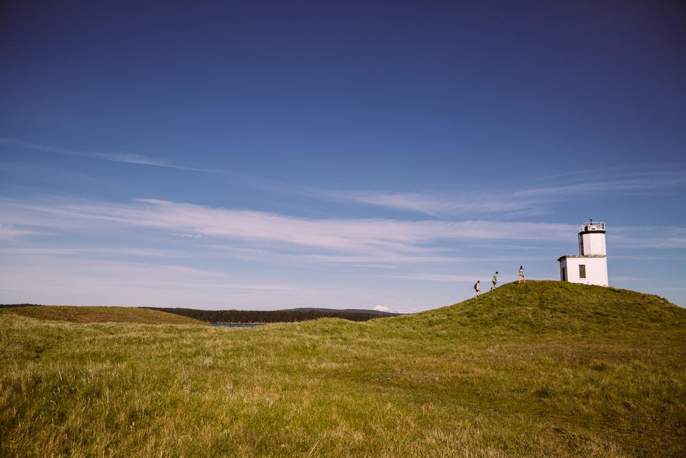 Lighthouse hill climb