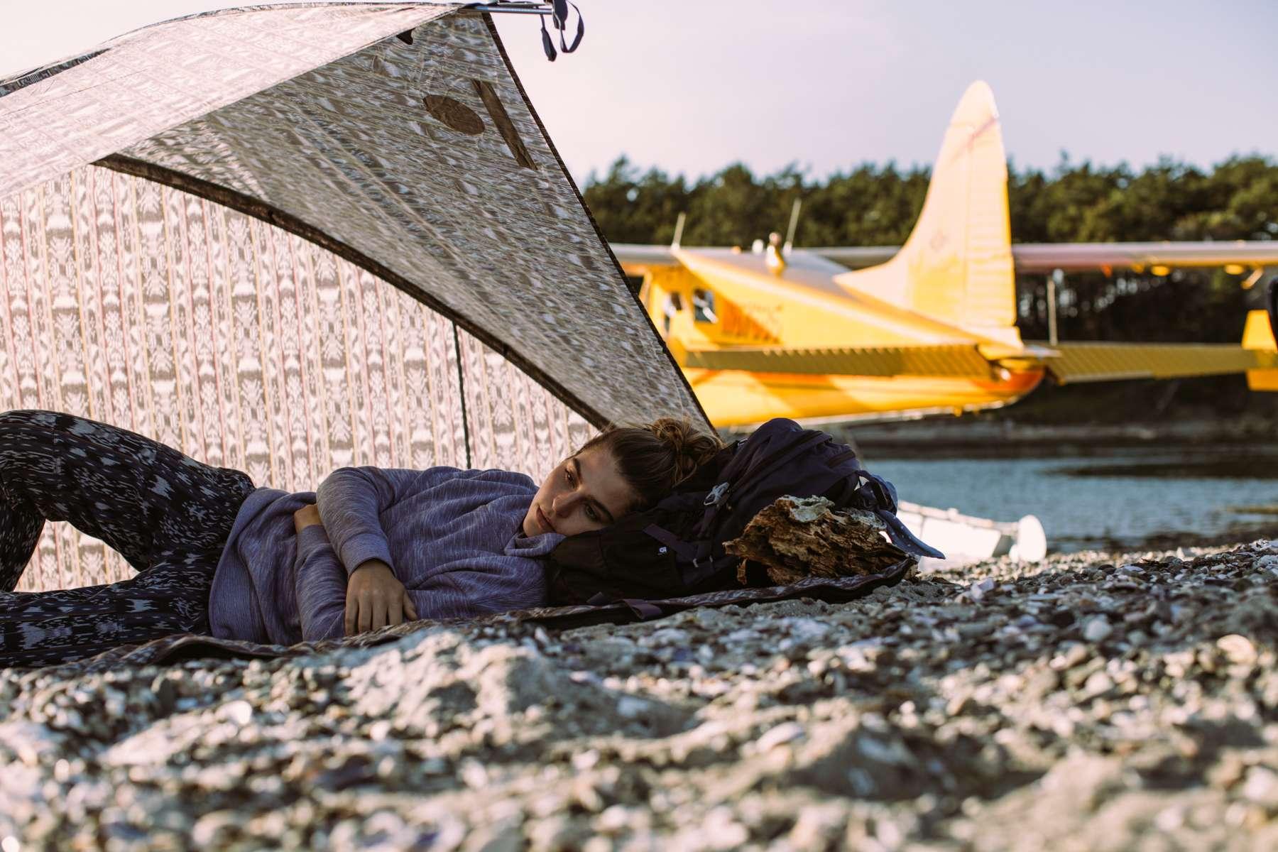 Tavia, Tent napping