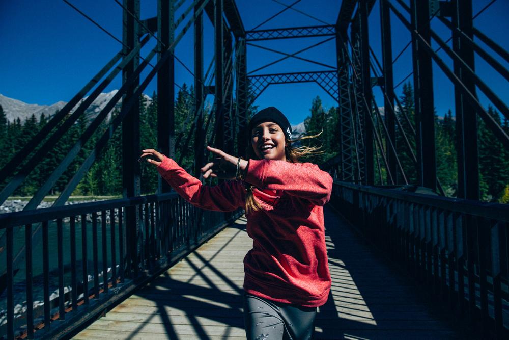 Melrose Boyer, Bridge Dance, Banff