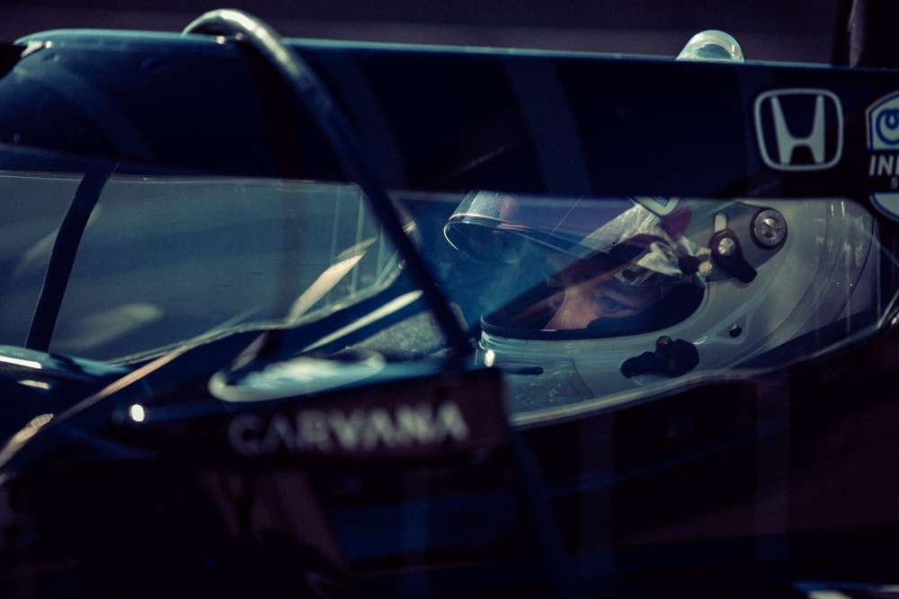 Jimmie Johnson IndyCar