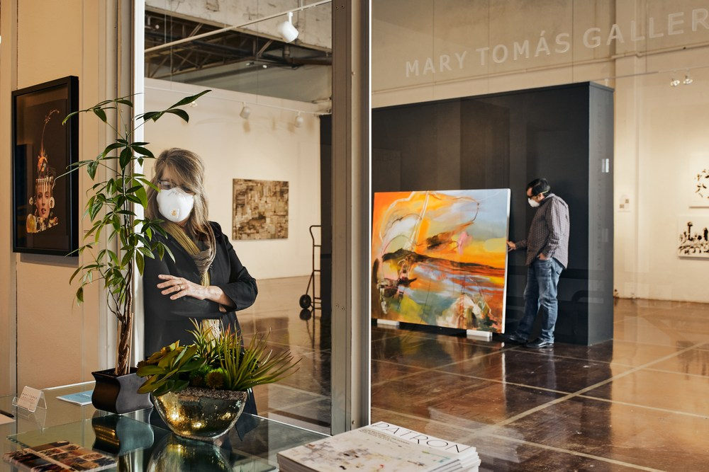 Mary and Alberto Tomas - Mary Tomas Gallery
