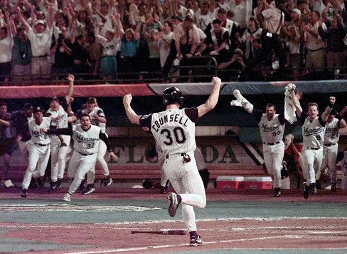 Florida Marlins  win 1997  World Series