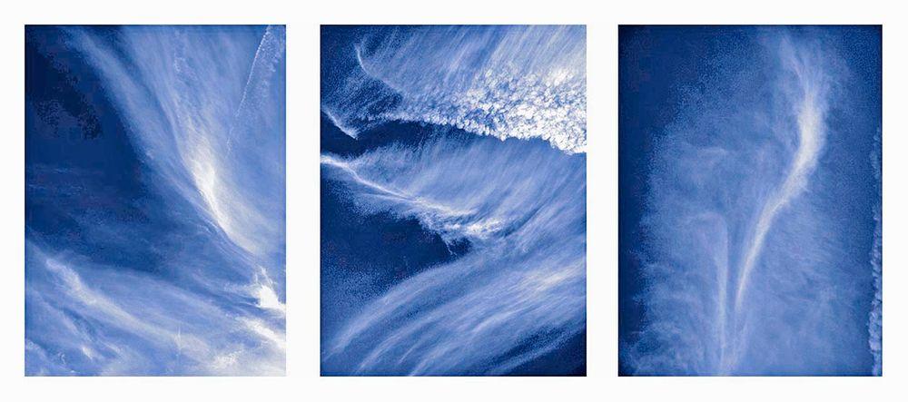 Sky mural.