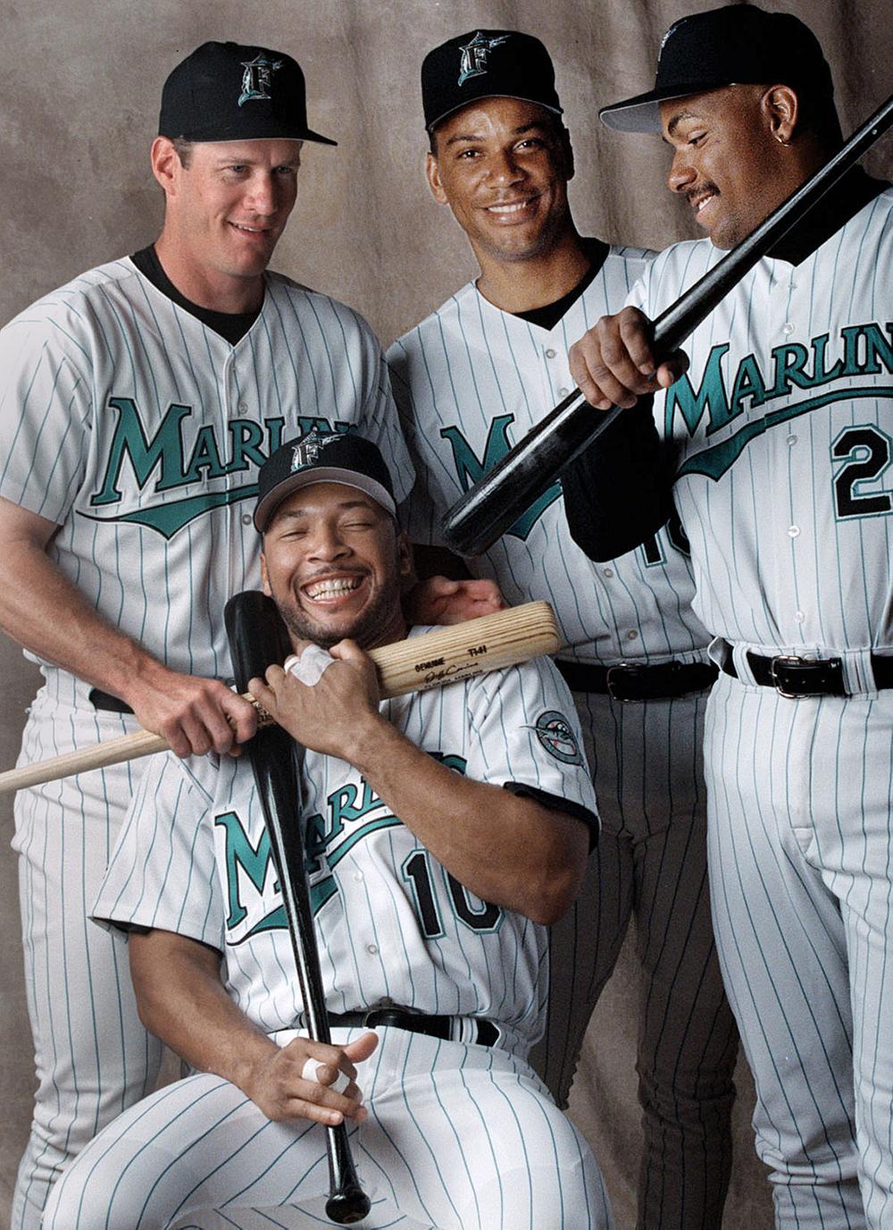 '97 Florida Marlins sluggers.