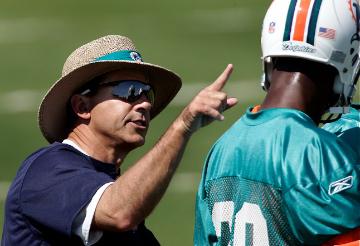 Coach Nick Saban  makes his point.