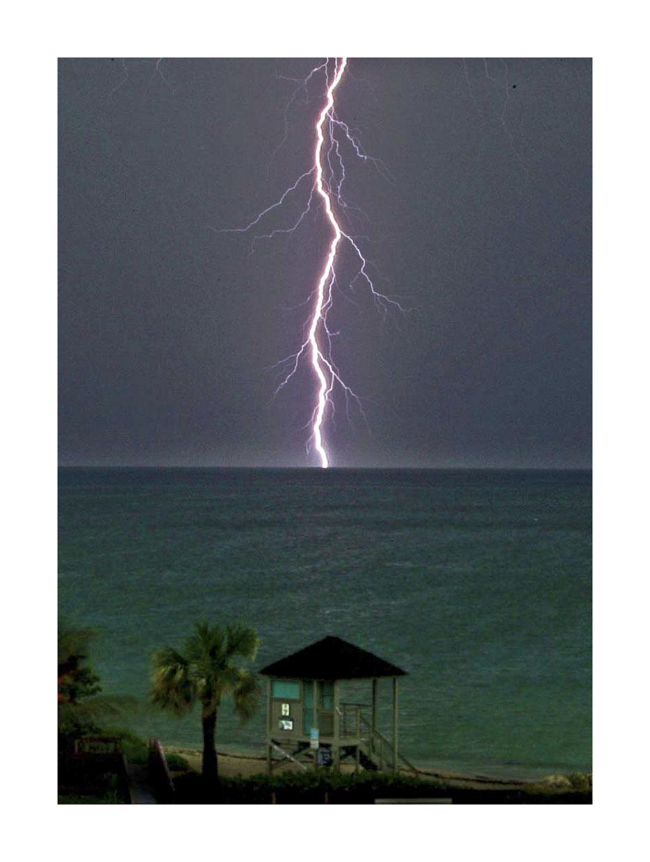 Coastal  lightning.