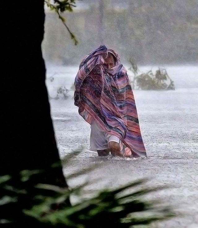 Hurricane Francis floods West Palm Beach.