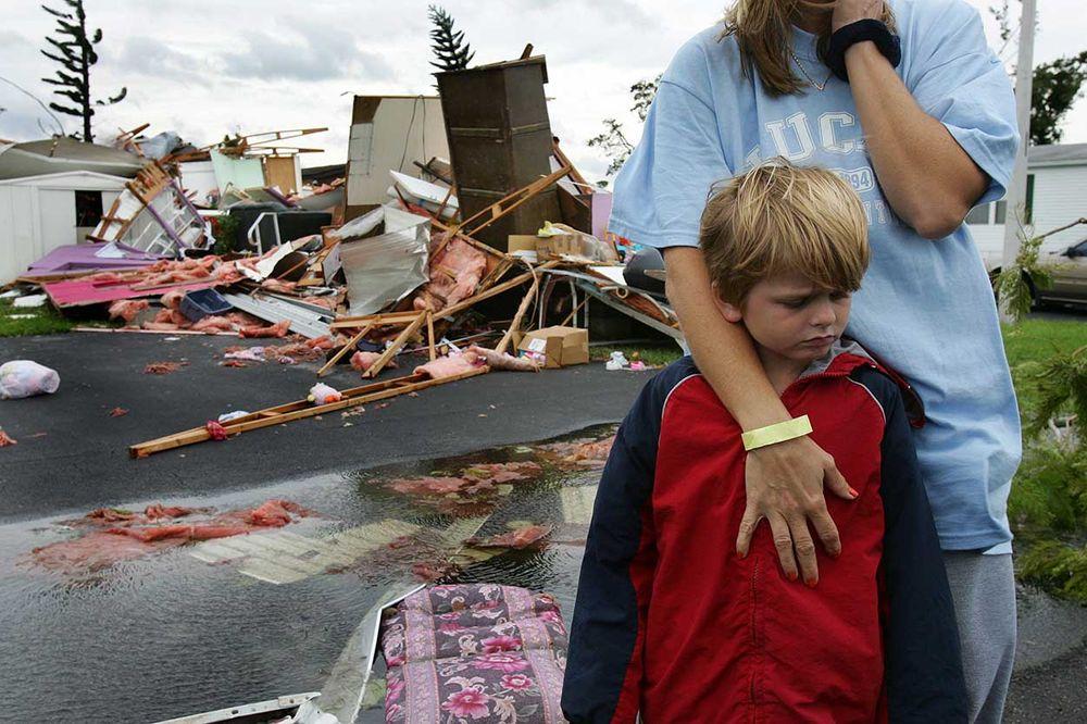 Hurricane Wilma,  despair and comfort.