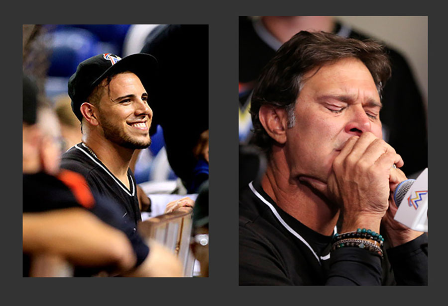 Fernandez's death, Mattingly reaction.