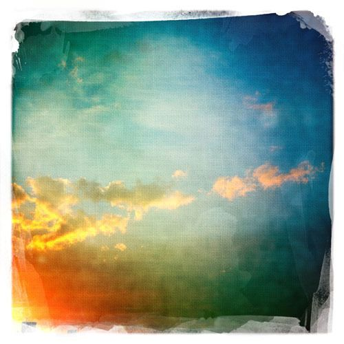 CLOUDS: hipstamatic 1