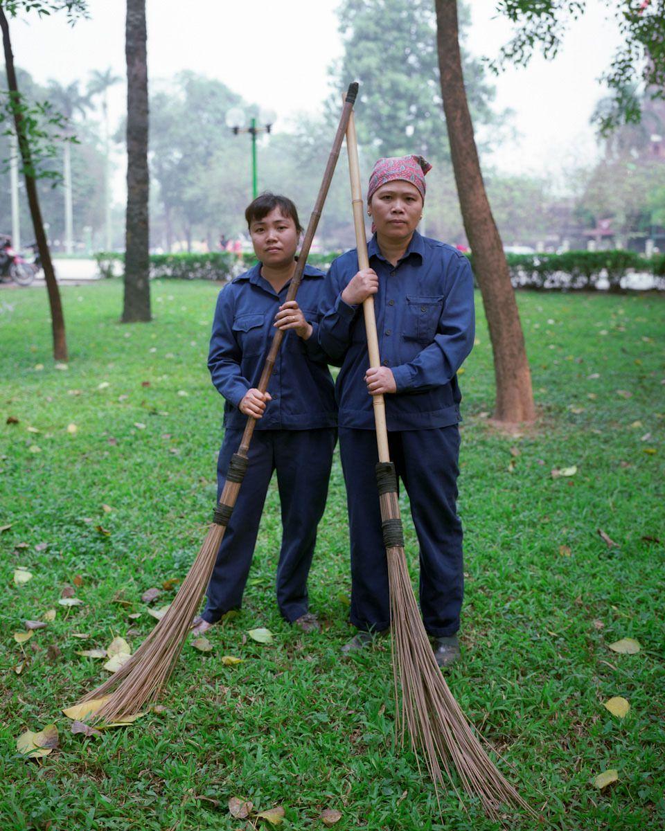 NGUYEN THI HUONG, TRAN THI HANGPark Workers2010