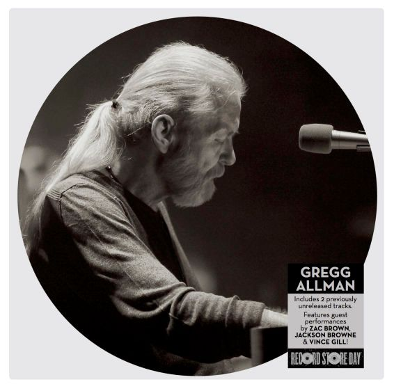 Gregg Allman Picture Disc