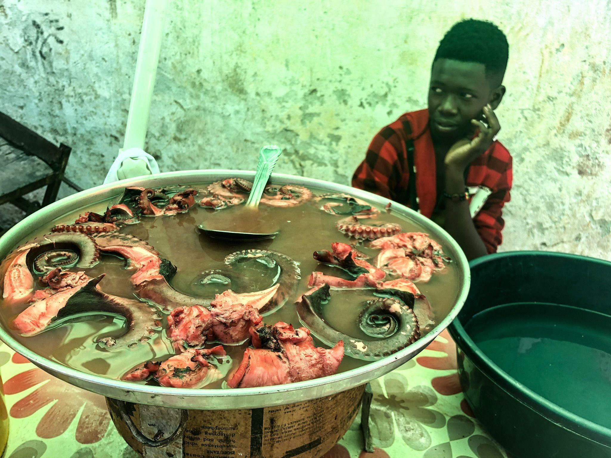 Stone Town Market Octopus