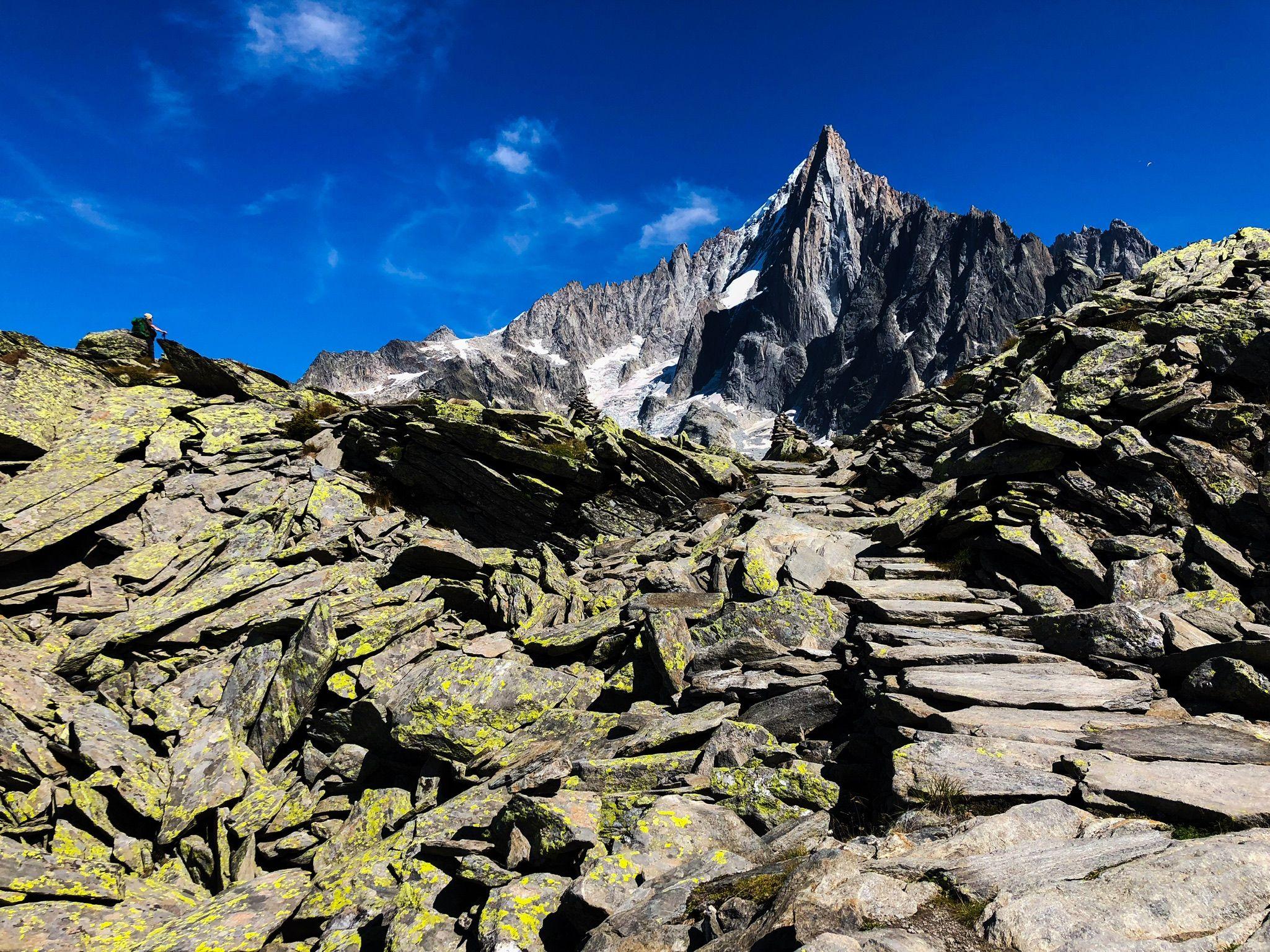 Pathway of stone