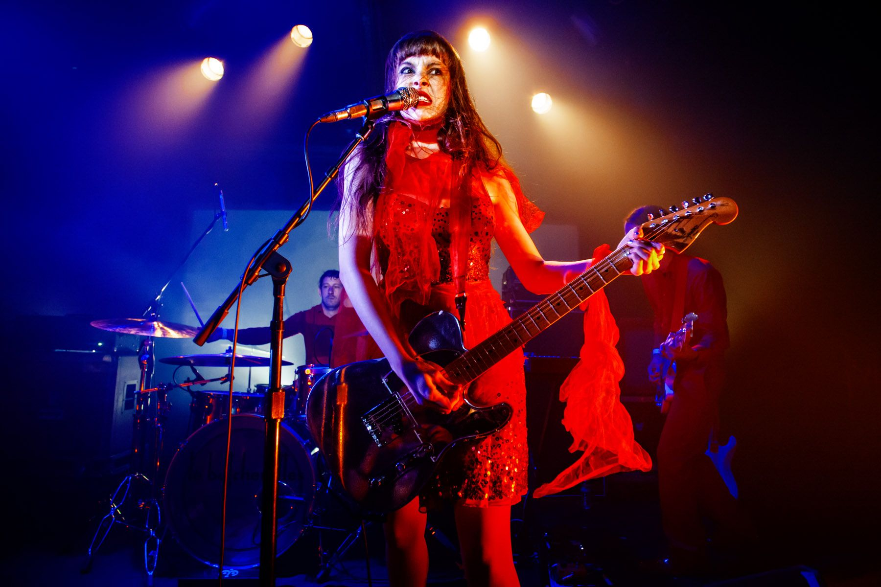 Le Butcherettes - 2016 - Los Angeles, CA