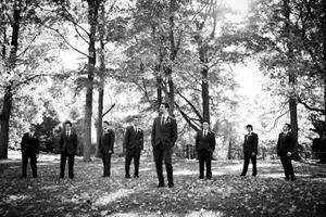 Dan and his groomsmen
