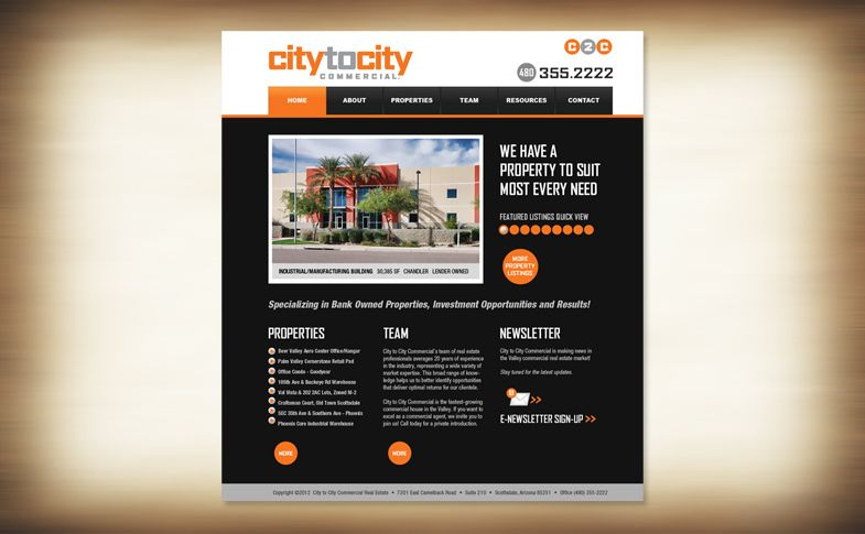 Website - City to City Commercial Real Estate