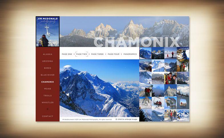 Website Design - Jim McDonald Photography