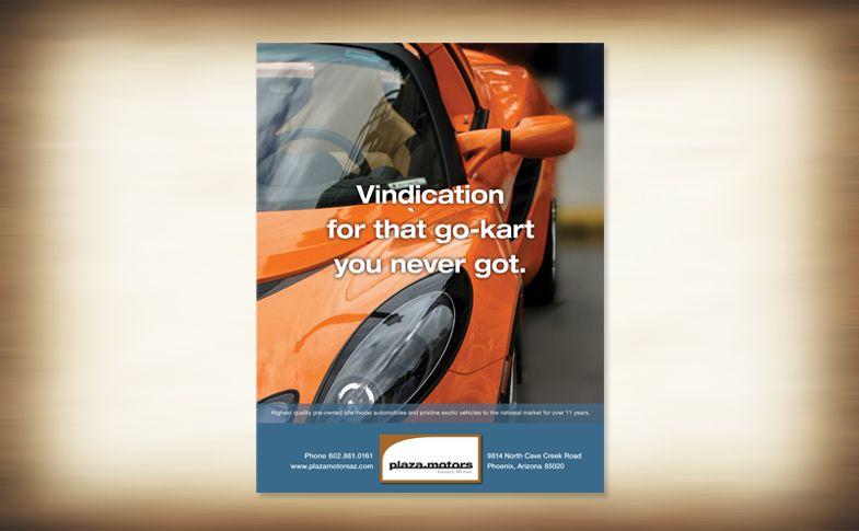 Automobile brokeragePrint ad campaign