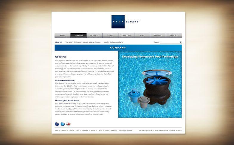 Website - Blue Square Manufacturing