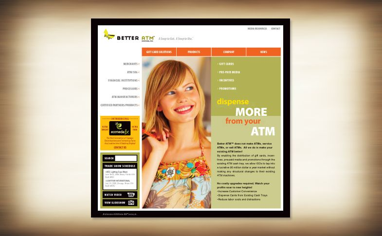 Website - Better ATM Services