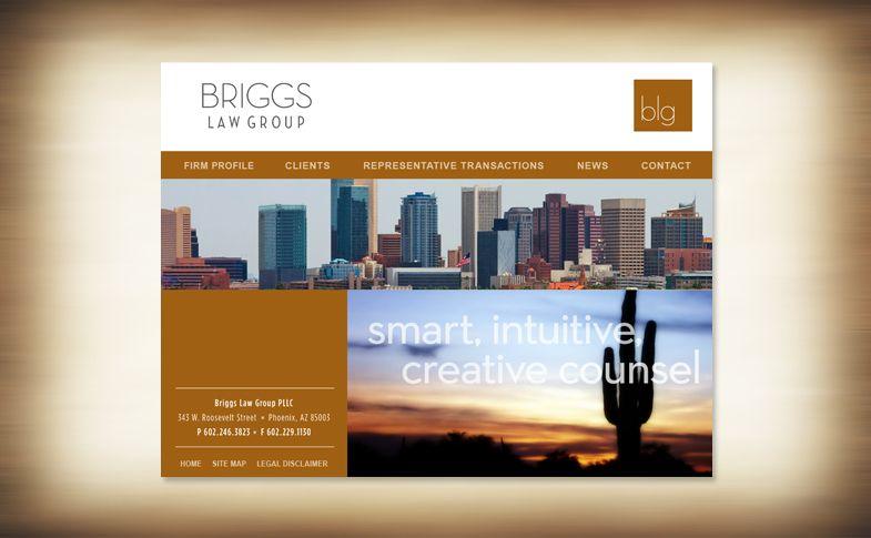 Website - Briggs Law Group