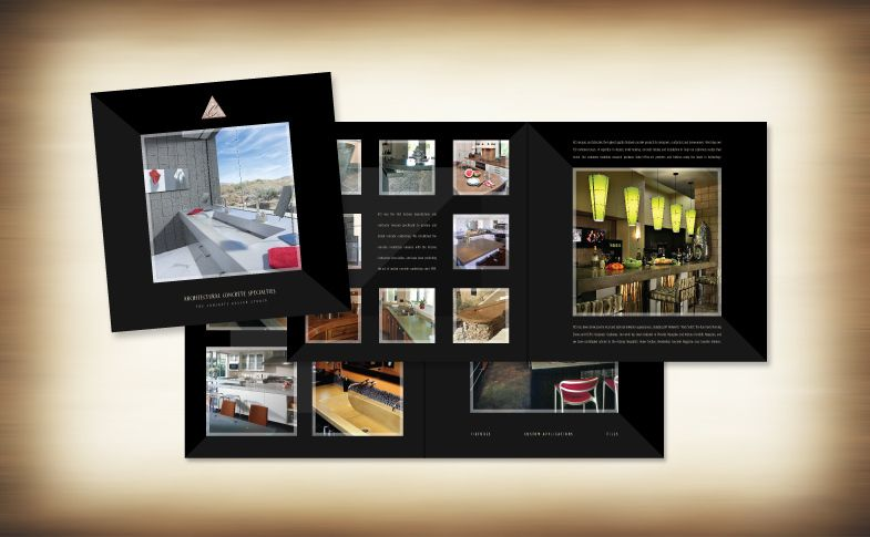 Sales/capabilities brochure for Architectural Concrete Specialties