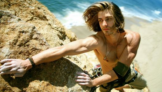 Lifestyle Photograaphy, Rock Climbing in Malibu