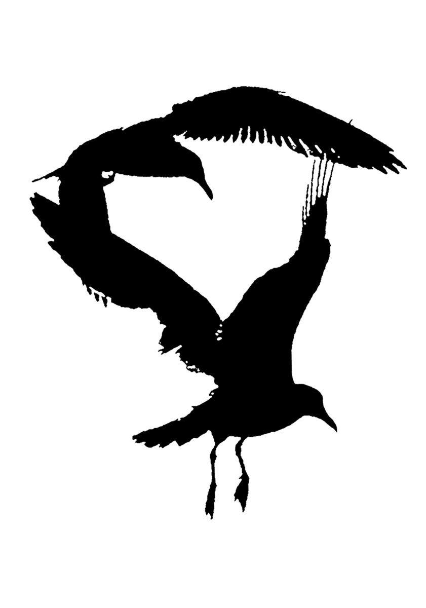 Bird Series #3 - Bird Heart ©2012 L. Aviva Diamond