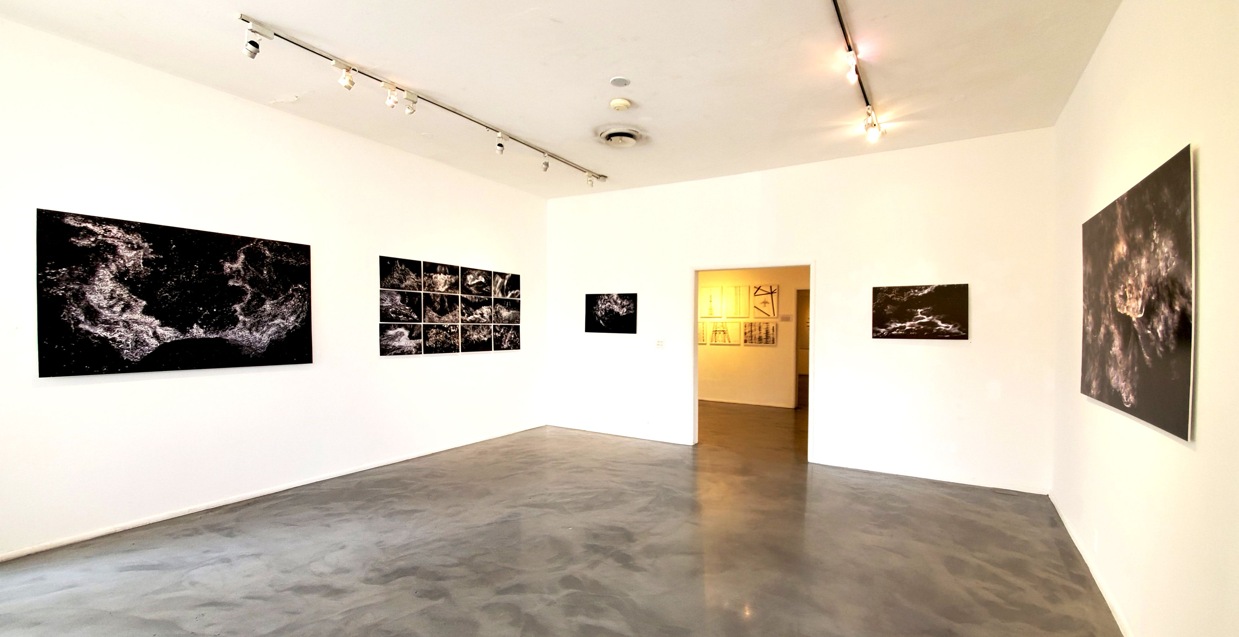 Light Stream - Solo Show at Gallery 825, Los Angeles (installation photo by Kristine Schomaker)